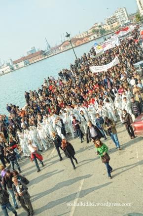 Μεγαλειώδης πορεία στηΘεσσαλονίκη
