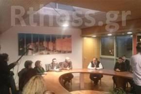 Συνάντηση Τσίπρα με πολίτες τηςΧαλκιδικής