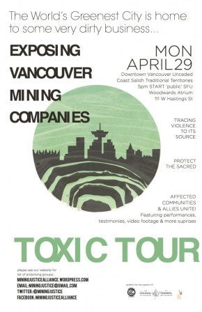 """Toxic Tour of Vancouver Exposes """"Greenest City's"""" DirtiestSecret"""