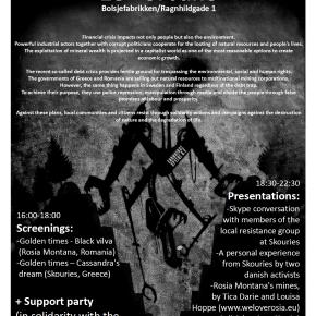Δανία: Εκδήλωση ενημέρωσης καιαλληλεγγύης
