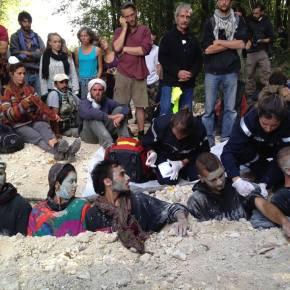 ZAD – απίστευτη επίθεση της γαλλικής αστυνομίας σε ειρηνικούςακτιβιστές