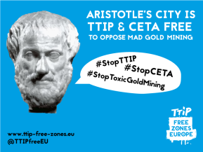 In Greece, standing against free trade agreements is standing for the planet