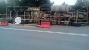 Χαλκιδική: Διαρροή τοξικών αποβλήτων από φορτηγό της Eldorado Gold έξω από τα ΑρχαίαΣτάγειρα